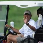 ゴルフ場からプレーを断られたオバマ
