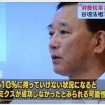 【答え】下記、谷垣法務大臣の言葉に隠れてる赤文字何か