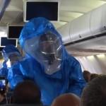 エボラ熱で航空トラブル続出=「冗談」飛ばし連行の客も