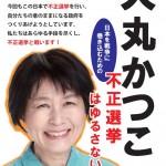 【1214不正選挙】 犬丸かつこ 東京2区から出馬へ ~犬丸さんとの思い出