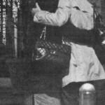 """中川郁子衆院議員 大臣辞任の夜に「安保法制」審議の形骸化の為の """"路上キス"""" パフォーマンス"""