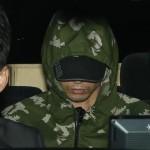 官邸ドローン墜落 山本泰雄容疑者 5.11の帽子で送検
