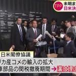 TPP日米協議 合意先送り。 20日午前9時半~翌日の午前3時過ぎまで18時間甘利フロマンのマブダチ協議