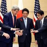 日米防衛協力指針(ガイドライン)で、弾薬提供を可能にするなど米軍への後方支援を大幅に拡充