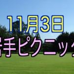 2015年11月03日 秋ピクニックのお知らせ in 岩手