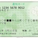 <NO監視社会!受け取り拒否運動>「マイナンバー通知カード」を絶対に受け取ってはいけません。