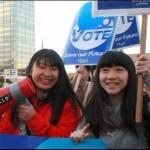 今やデモはファッションとして支配者層に設定され、やらされる時代です。 ~高校生がデモ「集団的自衛権いらない」クラブ音楽にあわせて渋谷の街を行進
