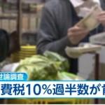 【FNNマイノリティー調査】消費税率10%への引き上げ肯定派が過半数に
