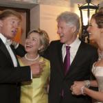 仲間が集うと実にいい笑顔、表情になります。~アメリカ大統領選挙。クリントン、トランプお仲間同士最後の直接対決